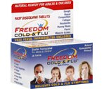 Freedom Cold & Flu Fast Dissolving Tablets