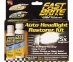 Fast Brite Auto Headlight Restorer Kit