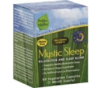 India Herbs Mystic Sleep Relaxation And Sleep Blend Vegetarian Capsules