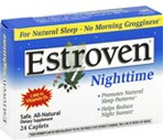 Estroven Nighttime Menopause Supplement Caplets