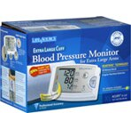 Life Source Extra Large Cuff Automatic Blood Pressure Monitor
