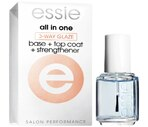 Essie All in One 3-Way Glaze, Base + Top Coat + Helps Strengthen