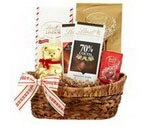 Lindt Classic Holiday Basket, 35.6 OZ