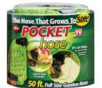 Pocket Hose 50 Ft Full Size Garden Hose