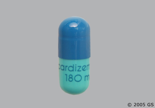 Cardizem CD 180mg Cap